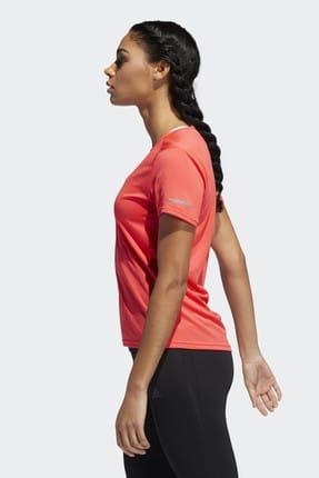 adidas RUN IT Kırmızı Kadın Kısa Kol Tişört 100575778 1