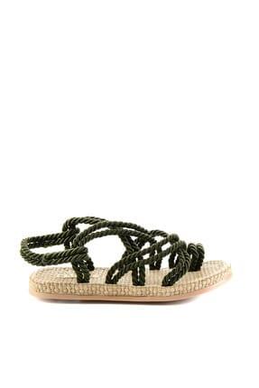 Bambi Haki Kadın Sandalet H0578010160 3