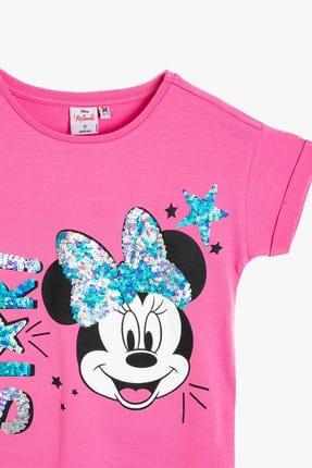 Koton Pembe Kız Çocuk T-Shirt 2