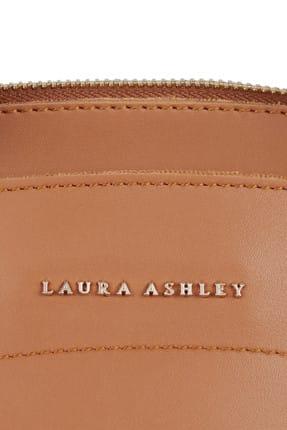 Laura Ashley Kadın Püskül Detaylı Omuz Çantası Taba 4