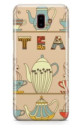 Melefoni Samsung Galaxy J6 Plus Kılıf Tea Time Serisi Hayden 0