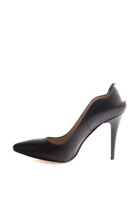 Dgn Siyah Kadın Klasik Topuklu Ayakkabı 166-127 1
