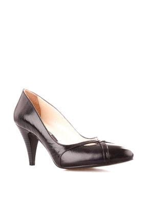 Dgn Siyah Kadın Klasik Topuklu Ayakkabı 653-127 1