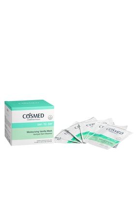 COSMED Nemlendirici Cilt Bakım Maskesi - Moısturızıng Vanılla Mask 5 ml /20 Adet 8699292991107 0
