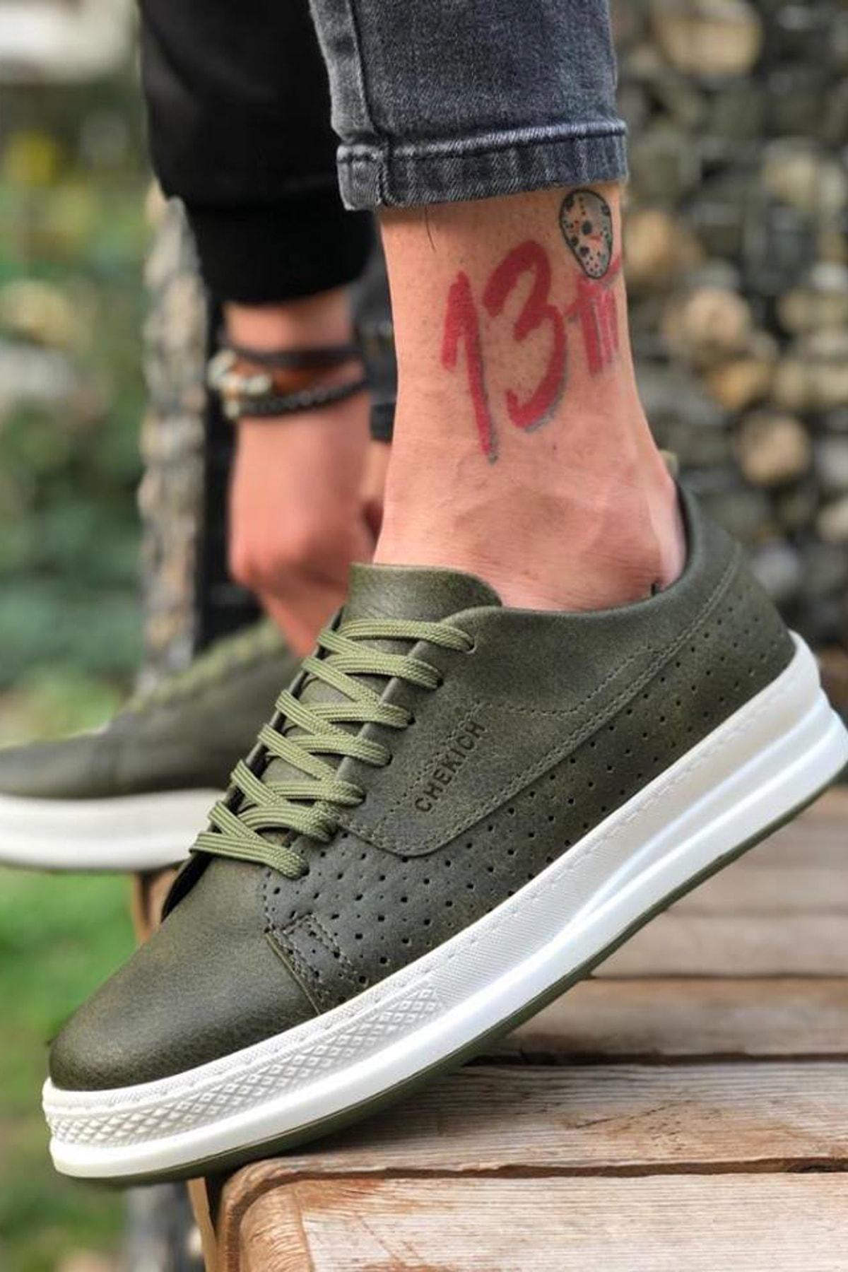 Haki Erkek Sneaker CH043
