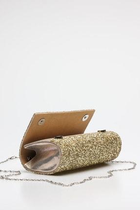 Rovigo Altın Kadın Abiye Çanta 90501523-04 3