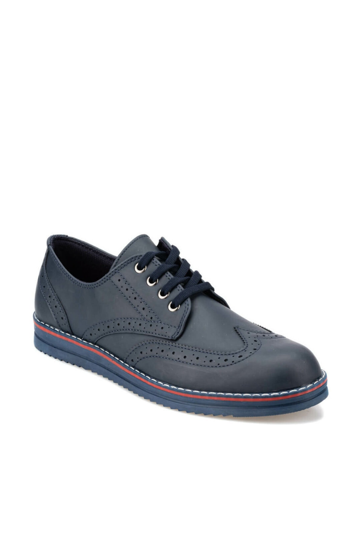 92.356617.m Lacivert Erkek Klasik Ayakkabı