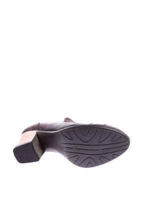 Mammamia Kahverengi Kadın Topuklu Ayakkabı 3