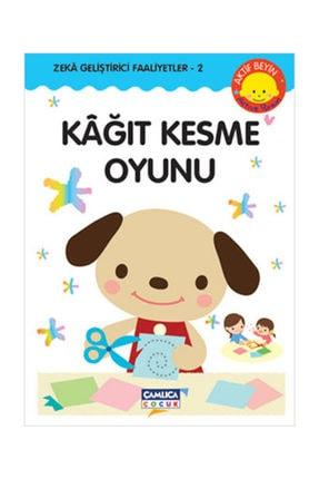 Çamlıca Çocuk Yayınları Kağıt Kesme - Zeka Geliştirici Faaliyetler - 2 0