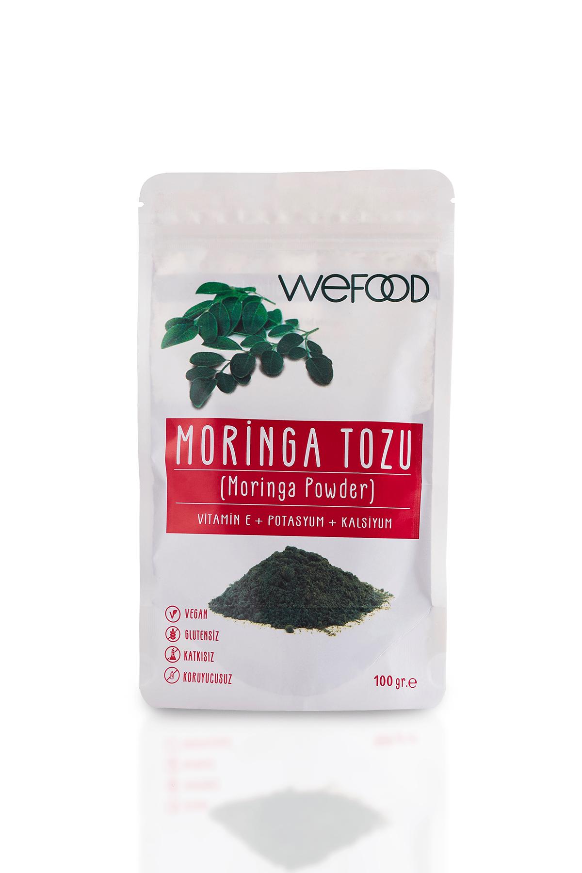 Wefood Moringa Tozu 100 gr 0