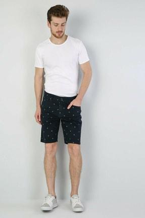 Colin's Slim Fit Bisiklet Yaka Erkek Beyaz Kısa Kol Tişört 2