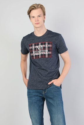 Colin's Mavi Erkek Tshirt K.kol CL1045514 2