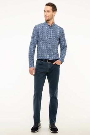 Pierre Cardin Lacivert Slim Fit Denim Pantolon 0