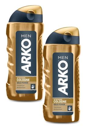 Arko Men Men Gold Power Tıraş Kolonyası 2x250ml 0
