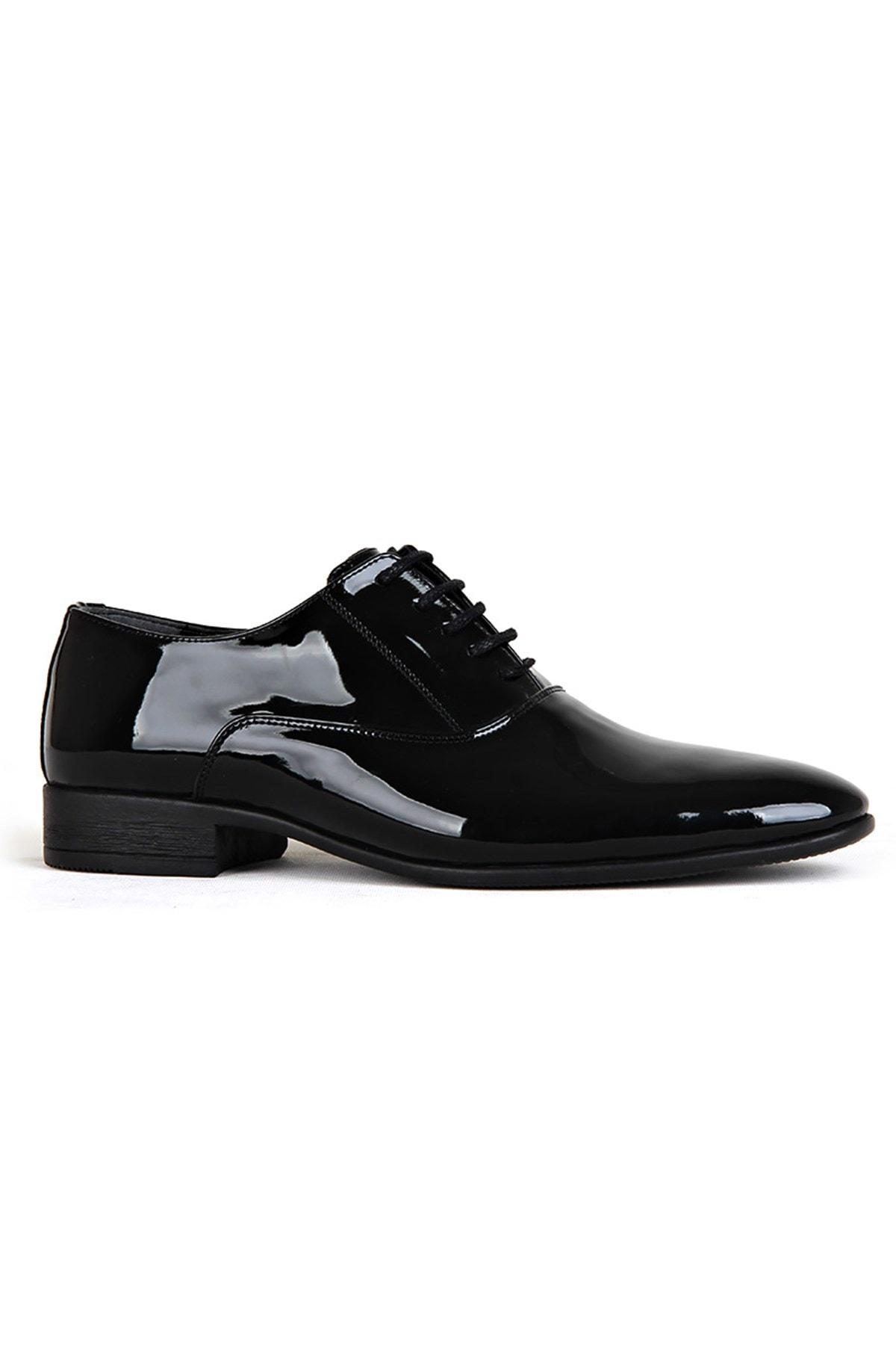 Siyah Erkek Klasik Ayakkabı PRA-683944-838313