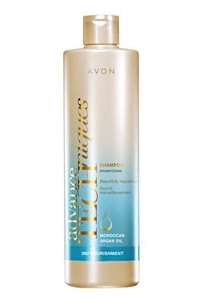 Avon Advance Techniques Argan Yağı İçeren Besleyici Şampuan 250 ml 8681298963073 0