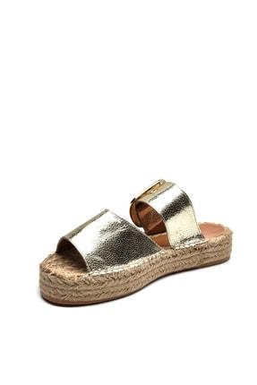 Jeep Ayakkabı Altın Kadın Terlik 9Y2MAJ0058 2