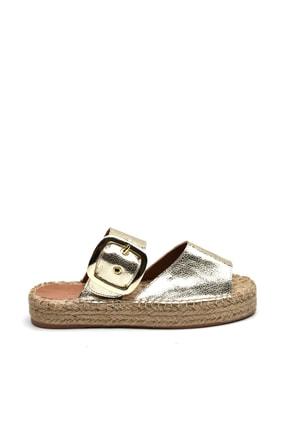 Jeep Ayakkabı Altın Kadın Terlik 9Y2MAJ0058 0