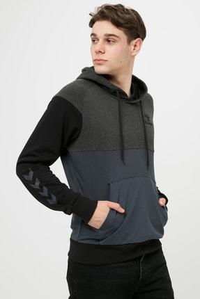 HUMMEL Fred Kapüşonlu Gri Erkek Sweatshirt 0