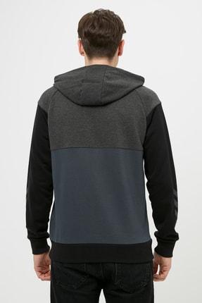HUMMEL Fred Kapüşonlu Gri Erkek Sweatshirt 4