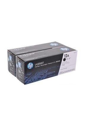 HP Orjinal Toner 2'li Paket 12ad -q2612ad 0