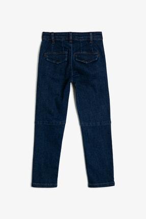 Koton Mavi Erkek Çocuk Cep Detayli Jean Pantolon 1