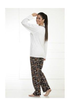 Etoile Cotton Uzun Kol Pijama Takımı 1