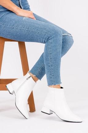 Fox Shoes Beyaz Kadın Bot & Bootie G922777709 0