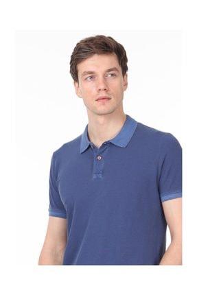 Ramsey İndigo Düz Örme T - Shirt RP10113908 3