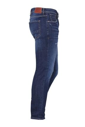 Lufian Slim Fit Chango Smart Jean Pantolon KOYU MAVİ - 111200003100310 1