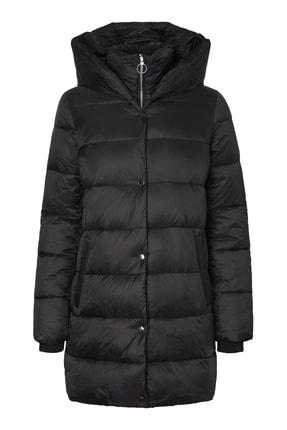 Vero Moda Kadın Siyah Uzun Mont 10217658 VMFORTUNE 0