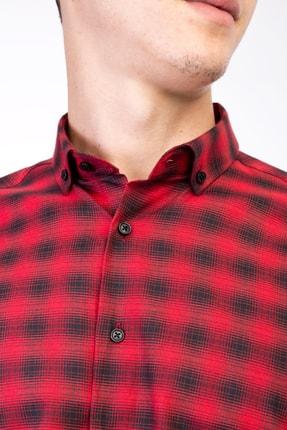 Kiğılı Uzun Kol Regular Fit Ekose Gömlek 3