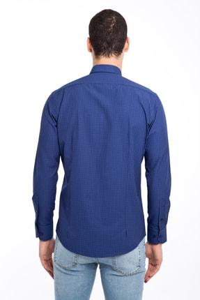 Kiğılı Uzun Kol Slim Fit Kareli Gömlek 2