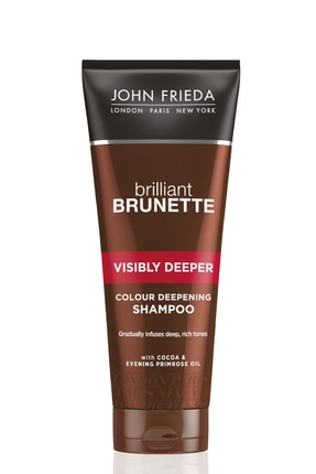 John Frieda Brilliant Brunette Visibly Deeper Şampuan 250ml 0