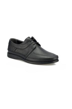 Polaris 102028.M Siyah Erkek Klasik Ayakkabı 100500652 0