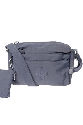 Smart Bags Kadın Füme Omuz Çantası 0