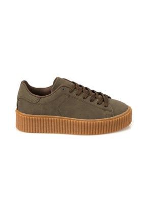 Kinetix KINO 9PR Haki Kadın Sneaker Ayakkabı 100419158 1