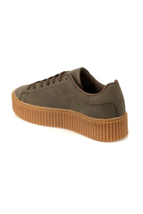 Kinetix KINO 9PR Haki Kadın Sneaker Ayakkabı 100419158 2