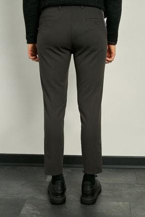 Sateen Men Erkek Antrasit Kumaş Bez Ayağı Pantolon 20KPA289E103 2