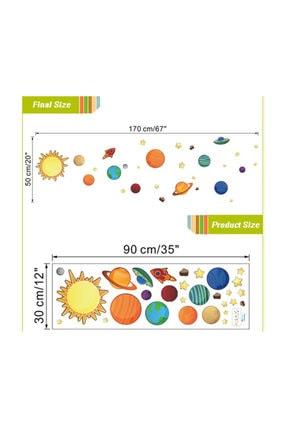 KT Decor Mars Güneş Sistemi Dünya Ve Gezegenler Duvar Sticker 1