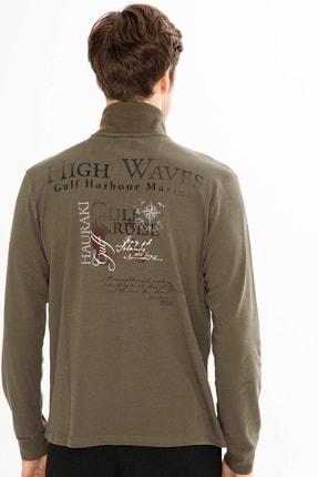 Mcl Giyim Erkek Haki Sweatshirt - 19KE00B26327-23 2