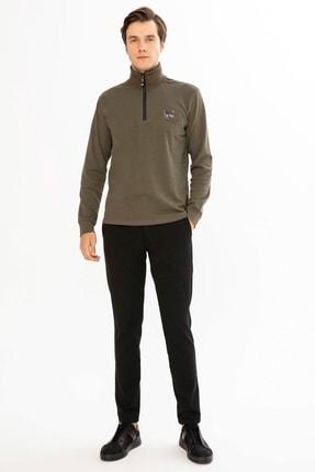 Mcl Giyim Erkek Haki Sweatshirt - 19KE00B26327-23 1