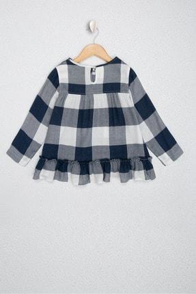 US Polo Assn Lacivert Kız Çocuk Dokuma Gömlek 1