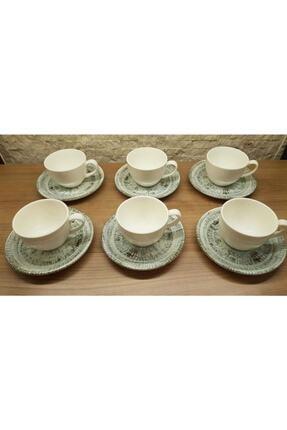 Bonna Odette 6 Kişilik Nescafe Çay Fincan Takımı 1