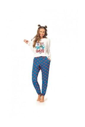 Pierre Cardin Bayan Pamuklu Ev Kıyafeti Pijama Takımı 0
