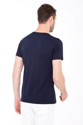 Kiğılı Bisiklet Yaka Slim Fit Tişört 2