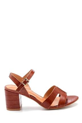 Derimod Kadın Kroko Desenli Sandalet 0