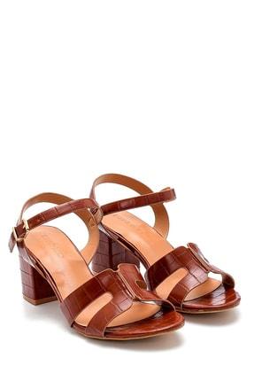 Derimod Kadın Kroko Desenli Sandalet 2