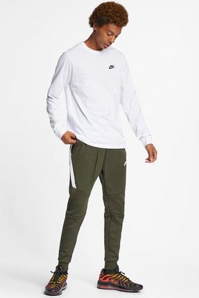 Nike Club Erkek Beyaz Sweatshirt (AR5193-100) 2