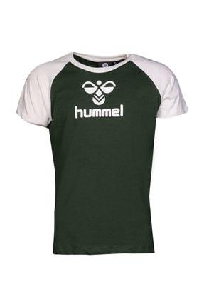 HUMMEL Erkek Yeşil Tişört 0